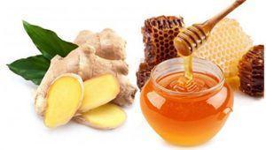 gừng và mật ong trong chữa hen phế quản